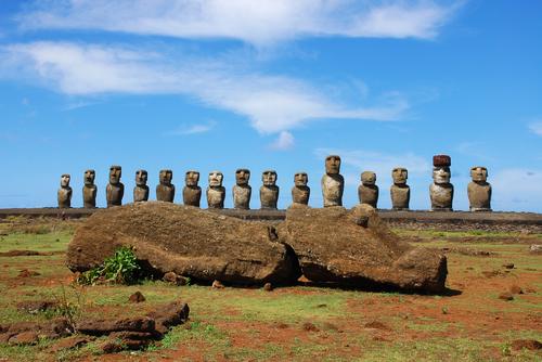 isla de Pascua Moáis