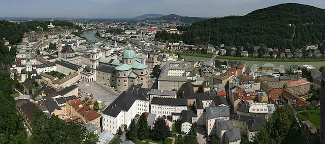 Vuelos a Salzburgo
