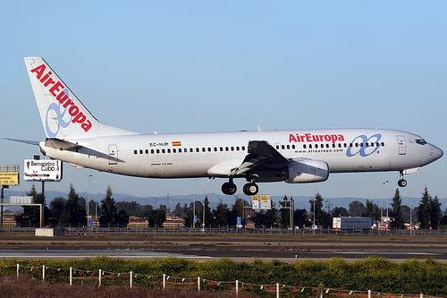 Air Europa amplia frecuencias a Bolivia.