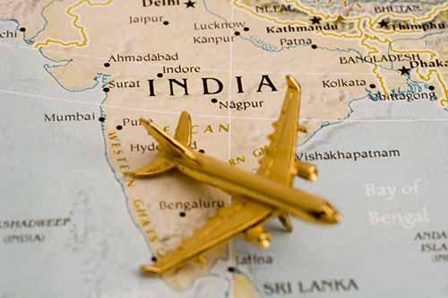 Vuelos a La India