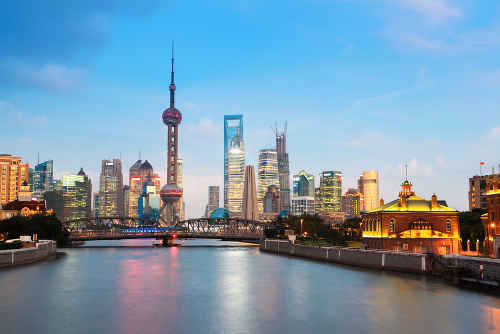 vuelos a Shanghai