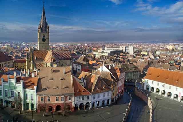 Vuelos a Sibiu Rumania