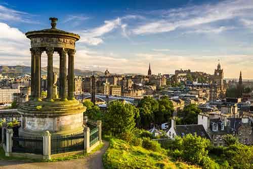 Vuelos Edimburgo