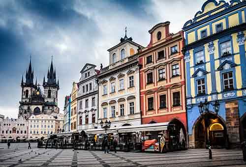 Vuelos baratos a Praga